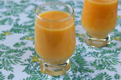 オレンジキャロットミルク