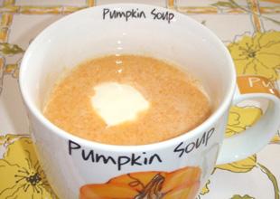 体が温まるスープ